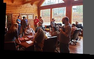 cabin meeting